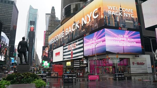 New York stad van vernietiging