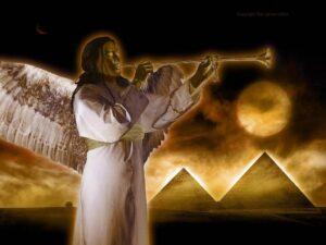 Trompet engel