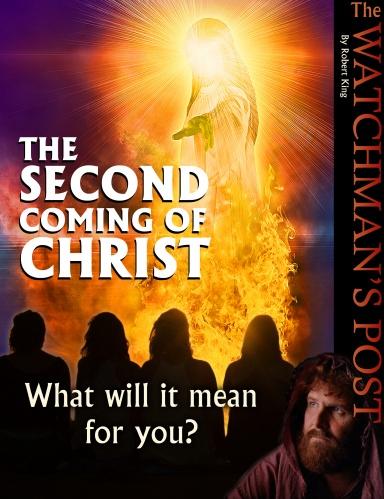 Tweede komst van christus Engels cover