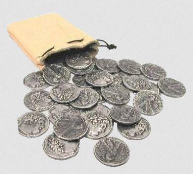 30 zilverstukken